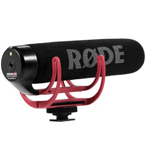 میکروفن Rode دوربین‌های اس‌ال‌آر | Rode VideoMic GO On-Camera Shotgun Microphone